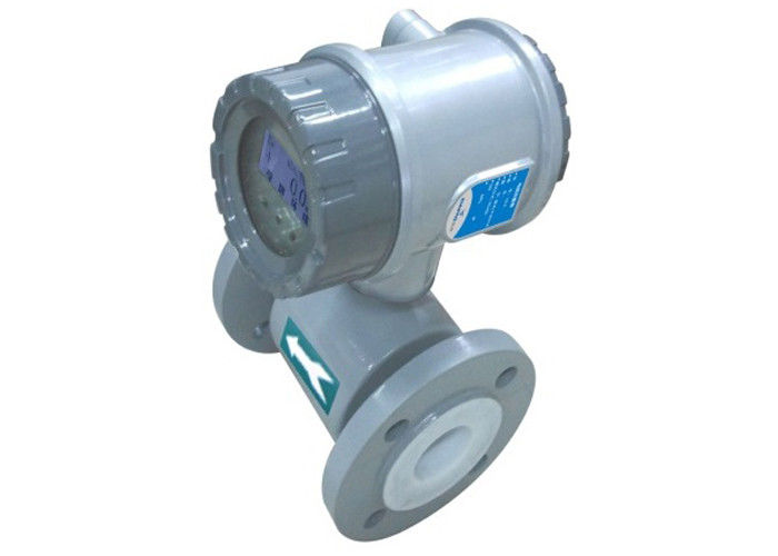 Finely Calibrated Electromagnetic Magnetic Flow Meter For Fluid Process Control