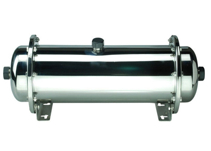 Hollow Fiber UF Brackish Water Reverse Osmosis Systems For Ground | Brackish Water SS304 Inline Pipe Type