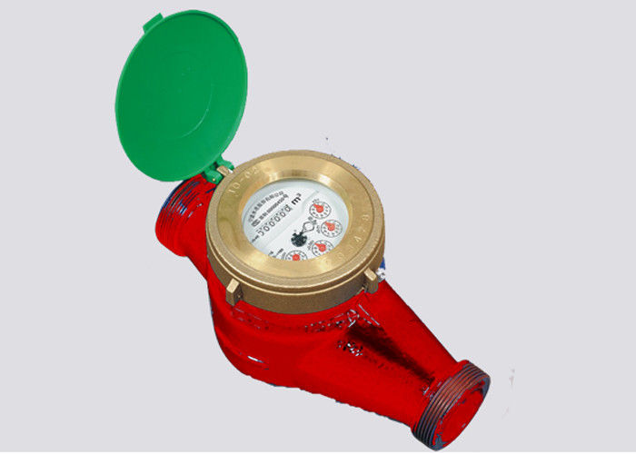 Heat Supply Temperature 90 C Multi Jet Water Meter For Hot Water , Ductile Iron DN32
