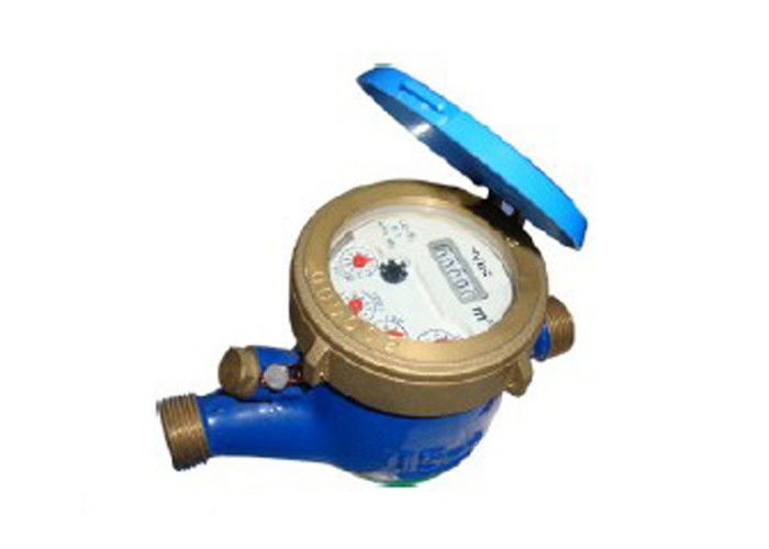 Plastic Material Liquid sealed Multi Jet Water Meter with dry dial
