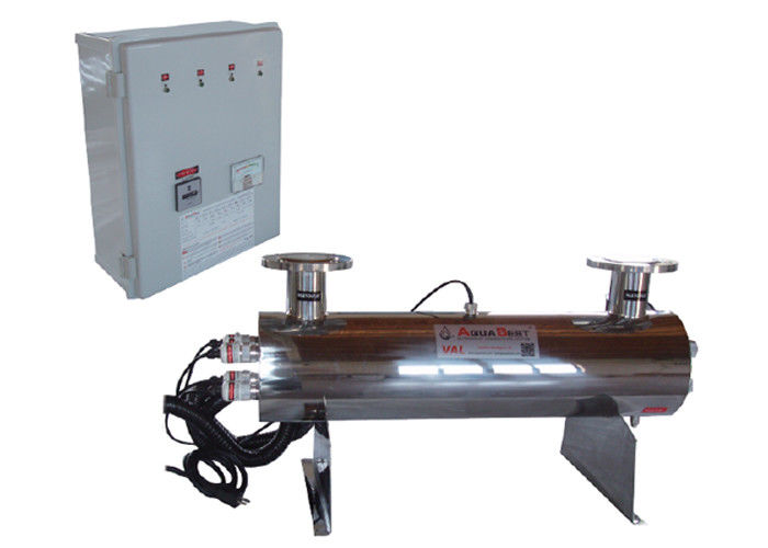 Horizontal Ultraviolet  Tianium  Water Disinfection Products 52GPM 11.8m3 / hour