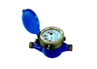Horizontal Multi Jet Water Meter วัสดุของอุปกรณ์ Brass Port ขนาด DN32 Mbus Communication